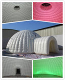 Tente d'éclairage LED Igloo gonflable Dome