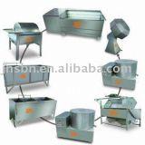 Macchine fresche della fabbrica delle patatine fritte della piccola scala standard del Ce