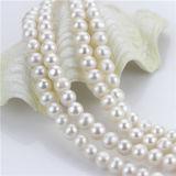 円形の製造の価格の淡水の真珠の自然なビードを離れて9-10mm