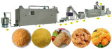 El queso empanado de la mozarela pega las migas de pan que hacen la máquina