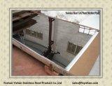 Plaque de miroir d'acier inoxydable pour le compartiment