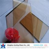 建物またはWindowsのためのゆとりか青銅または灰色の平たい箱または板ガラス