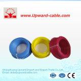 Fio elétrico isolado PVC de cobre do condutor