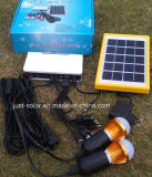 LED solar Lighting Lights System con 3PCS LED Bulb