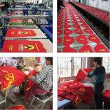 Chemises courtes estampées rouges d'élection présidentielle du Kenya d'usine annonçant le T-shirt