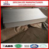 Lamiera di acciaio ondulata dello zinco di alluminio per il comitato del tetto