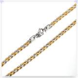 Catena dell'acciaio inossidabile della collana di modo dei monili di modo (SH015)