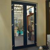 Aluminiumflügelfenster-Tür mit multi Verschluss, Aluminiumtür, Tür K06019