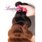 Объемная волна волос реальной мягкой дешевой девственницы Ombre бразильская