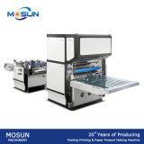 Máquina semiautomática de alta velocidade do laminador de Msfm-1050 Glueless