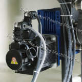 Máquina de embalagem elétrica, máquina de empacotamento de motor Sevor, máquina de embalagem completa inoxidável