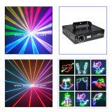Lumières à rayon laser du DJ de Noël d'étape décorative de disco avec l'animation