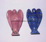 Semi Precious Stone Carving Angelo, Moda d'intaglio, Figura, Statue (ESB01504)