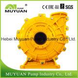 Bomba ácida resistente corrosiva de la mezcla del proceso mineral del desbordamiento de capacidad inferior del espesante de la prueba