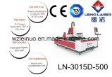 cortadora de alta velocidad del laser de la fibra del CNC 800W para el metal