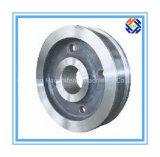 Il CNC ha lavorato la flangia alla macchina dell'acciaio inossidabile con rivestimento di Sillver