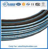 Boyau hydraulique tressé de fil de SAE100 R2at En853 2sn