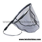 mit Nylon Net Concealed in The Frame Fly Fishing Landing Net