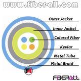 Simplex Binnen Gepantserde Kabel met de de Spiraalvormige Buis en Vlecht van het Metaal