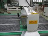 Machine de découpage en bois de couteau de gravure de commande numérique par ordinateur des forces de défense principale HDF de porte