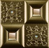 modelo grabado 3D del panel de la decoración de la pared de la PU