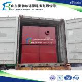 Usine vivante de traitement des eaux résiduaires de 600 tonnes/jour, matériel d'évacuation des eaux d'égout de ménage