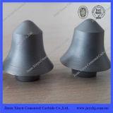 Cementado su tapa de carburo Botones para Minería Grado Yg11c Hecho en Jinan