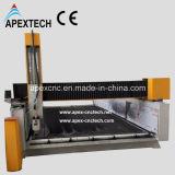 Marmorgranit 2016 hölzerne CNC-Steinausschnitt-Gravierfräsmaschine