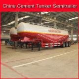 40-60m3 de verticale BulkTanker van het Cement/Aanhangwagen van de Vrachtwagen van de Tank de Semi