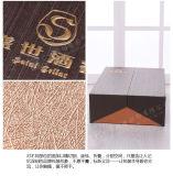 Коробка высокого качества 2017 оптовых продаж бумажная с напечатанным логосом Demboss
