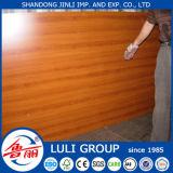 Chapas de madera de 17 mm de melamina Frente de Papel