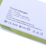 EUのプラグ4ポートの交流電力のストリップ旅行USBの充電器