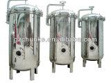 Cárter del filtro alcalino estéril del cartucho de la jarra del filtro de agua del acero inoxidable