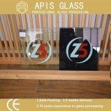 Покрашенное покрашенное стеклянное стекло шелковой ширмы /Painting стеклянное (бело, черно, красно, желтый цвет