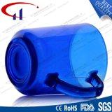 220ml het beste verkoopt de Blauwe Kop van het Water van het Glas van de Kleur (CHM8128)