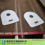 特別な形の家庭電化製品のための最もよい品質の余分に白の4mm強くされたガラスパネル