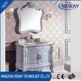 単一の流しの家具の浴室用キャビネットを立てる旧式な様式の床