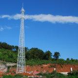 4 다리가 있는 원거리 통신 강철 격자 셀룰라 전화 탑