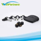 Sensor solar da pressão de pneumático do carregador do carro do alarme da pressão de pneu do alarme da pressão de pneu do sistema de vigilância 12V TPMS da pressão de pneu