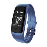 Nuovo Bluetooth Wristband astuto di Facebook del pedometro dell'inseguitore di forma fisica di Smartband del video di frequenza cardiaca dello S1 del braccialetto di Ttlife per il Android dell'IOS