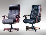 Chaise en cuir à extrémité élevé de luxe de bureau exécutif de pivot avec des roues pour le directeur (EY-10B)