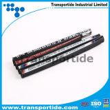 Le fil en caoutchouc de boyau de l'abrasion R13 à haute pression renforcent le boyau hydraulique