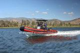 Bote de salvamento de Aqualand 21feet 6.4m Rib Patrol /Rigid Inflatable/Military Motor Boat (rib640t)