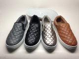 PU上部14hy1601が付いている運動靴の偶然靴の女性のスニーカー