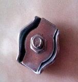 스테인리스 단순한 철사 밧줄 클립 케이블 죔쇠 단 하나 놀이쇠