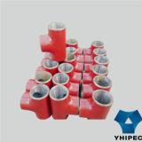 鋼鉄接合溶接の継ぎ目が無い管付属品のティー(CS)