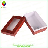 Window를 가진 선전용 Lid 및 Base Paper Packaging Box