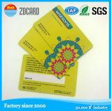 Cartão Printable plástico feito sob encomenda dos smart card NFC de RFID