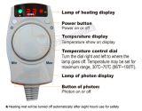 het Foton van 200X80cm, Tourmaline en Infrarood het Verwarmen van de Mat van de Jade Stootkussen