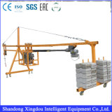 6dof Motion Construction Material Loading Scissor Lift Platform